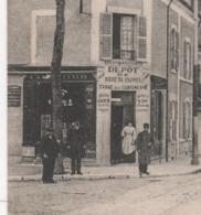 18 CHER - CP ANIMEE BOURGES - RUE DE DUN SUR AURON - E.M.B. N° 523 - DEPOT DE BIERE DE PIGNOUX TABAC DE CANTINE N°6 - Bourges