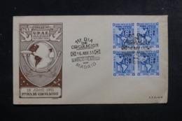ESPAGNE - Enveloppe FDC En 1951 - Union Postal - L 44753 - FDC