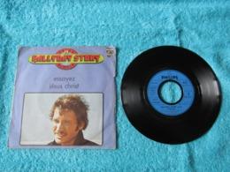 45 Tours 2 Titres 6009 443 : Hallyday Story N° 19. - Essayez - Jésus Christ. - Johnny Hallyday. - Rock