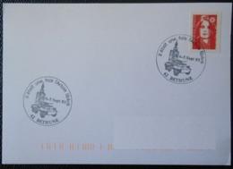 B089 Cachet Temporaire Bethune 62 Pas De Calais Il était Une Fois L'Artois Libéré 4 5 Septembre 1993 - Commemorative Postmarks