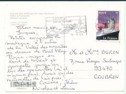 3473 Paquebot France Sur Carte Postale  De La Vallée Des Merveilles (06) - France
