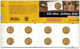 Markenheftchen Bund Postfr. MH 62 I Goldene Bulle MNH ** - Carnet