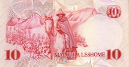 LESOTHO  P. 6b 10 M 1981 UNC - Lesoto