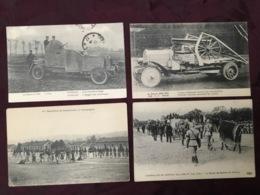 LOT DE 4 CARTES POSTALES GUERRE 14/18.   /36/ - Guerre 1914-18