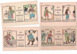 CARTOLINA PUBBLICITARIA POST CARD CARTE POSTALE CHOCOLAT LOMBART - Publicidad