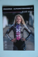 CYCLISME: CYCLISTE : AXELLE BELLAERT - Cycling