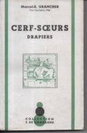 Cerf Soeurs Drapiers Par Marcel E. Grancher Jura - Collection 5 De Campagne - 1945 - Dédicacé Pour L'auteur - Bücher, Zeitschriften, Comics