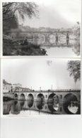 2 PHOTOS 30 SOMMIERES LE PONT SUR VIDOURLE    17,5x12,5 CM - Luoghi
