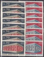 8x Andorra (french) 1969, Europa CEPT (MNH, **) - Colecciones (sin álbumes)