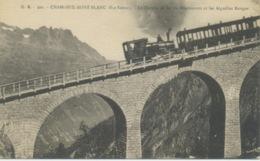 CHAMONIX MONT BLANC - Chemin De Fer - Locomotive Et Train à Crémaillère - Chamonix-Mont-Blanc