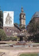 D38431 CARTE MAXIMUM CARD 2005 BELGIUM - BELFRY MONS BERGEN BEFFROI CP ORIGINAL - Castelli