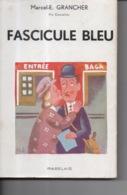Fascicule Bleu Par Marcel E. Grancher Jura - Editions Rabelais - 1946 - Illustration Roger Sam - Bücher, Zeitschriften, Comics