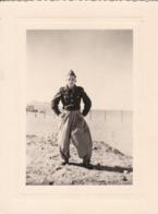 Photographie Militaire Méhariste Légion étrangère CSPLE  Afrique Du Nord Régiment A Identifier ( Ref 300) - Guerra, Militares