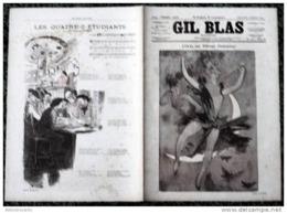 *GIL BLAS < Dessins De CHERET Et STEINLEN *N°15 Du 4/10/1891 - Books, Magazines, Comics