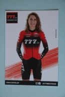CYCLISME: CYCLISTE : YARA KASTELIJN - Cyclisme
