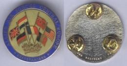 Insigne De L'Etat Major Des Forces Aériennes Alliées En Europe Centrale ( Type I ) - Armée De L'air