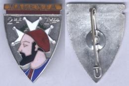 Insigne Du 2e Régiment De Zouaves - Army