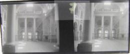 LEIPZIG, 1900 : Theater (?). Plaque Verre Stéréoscopique Négatif - Plaques De Verre