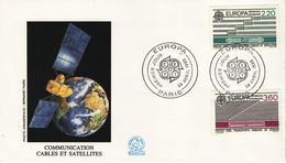 FRANCE  1988 EUROPA CEPT   FDC - Europa-CEPT