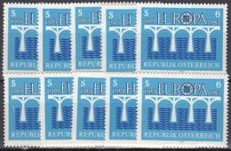 10x Austria 1984, Europa CEPT (MNH, **) - Colecciones (sin álbumes)
