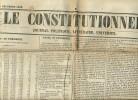 Journal LE CONSTITUTIONNEL, N° 358 (23 Décembre 1848) : Elections, Louis-Napoléon Bonaparte, Nouvelles France, Etranger - Kranten