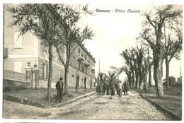 GENZANO Villini Mancini Con Animazione  C. 1908 - Italy