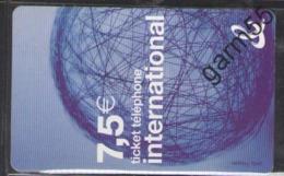 TELEPHONE CARD FRANCE 7.50 - Telefoonkaarten