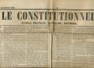 Journal LE CONSTITUTIONNEL, N° 362 (27 Décembre 1848) : Assemblée, Louis-Napoléon Bonaparte, Nouvelles France, Etranger - Kranten