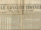 Journal LE CONSTITUTIONNEL, N° 355 (20 Décembre 1848) : Elections, Louis-Napoléon Bonaparte, Nouvelles France, Etranger - Kranten