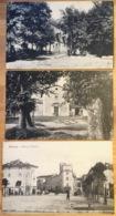 GENZANO 3 Cartoline Pza Plebiscito Ple Del Brennero E Ple Mazzini  C. 1908 - Italia