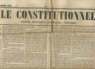Journal LE CONSTITUTIONNEL, N° 342 (6 Décembre 1848) : Louis-Napoléon Bonaparte, Nouvelles De France, Etranger... - Kranten