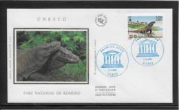 Thème Animaux - Varan - France - Enveloppe - Reptiles & Amphibians