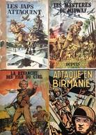 Hubinon/Buck Danny.  Lot Composé Des Tomes Suivants En E.O: 1 - 2 - 3 - 6 - 7 - 8 - 10 - 11 - 13 & 14.  Etats D'origine  - Libros, Revistas, Cómics