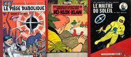"""Ensemble De 3 Albums Lombard: Jacobs/Blake & Mortimer.  Album Tome 8 """"Le Piège Diabolique"""".  EO De 1962.  Extérieur En B - Libros, Revistas, Cómics"""