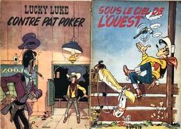 Morris/Lucky Luke.  Paire D'albums Tomes 4 & 5.  EO De 1953 & 1954.  Etat D'origine Avec Usures/dégâts Des Extérieurs.   - Libros, Revistas, Cómics