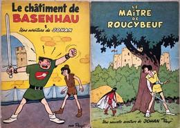 Peyo/Johan & Pirlouit.  Tomes 1 & 2, EO Vers 1954.  Bel état De Conservation Général, Le Bas Des Tranches Ont Souffert. - Books, Magazines, Comics