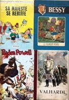 Ensemble De 12 Albums Anciens: Vandersteen/Bessy: Tome 18 & 76.  BE Remacle/Vieux Nick: Tome 8, EO De 1964.  BE Jijé/Val - Books, Magazines, Comics
