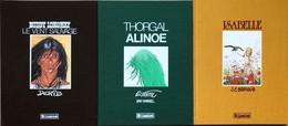 "Trio D'albums Version Tirage De Luxe: Rosinski/Thorgal.  Rare Album Tome 8 ""Alinoé"" Version Tirage De Luxe.  Numéroté Et - Libros, Revistas, Cómics"
