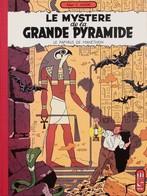 """Jacobs/Blake & Mortimer.  Paire D'albums Tomes 3 & 4 """"Le Mystère De La Grande Pyramide"""".  Tirages De Luxe Format Planche - Libros, Revistas, Cómics"""