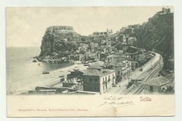 SCILLA  VIAGGIATA 1902 FP - Reggio Calabria