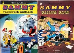 Sammy/Berck & Cauvin.  Ensemble Composé Des Tomes 1 à 26.  Le Tome 11 Est Manquant.  EO De 1973 à 1989.  BE à TBE+ - Books, Magazines, Comics