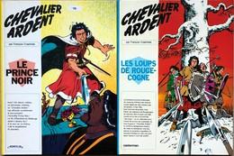 Chevalier Ardent/Craenhals. Ensemble De 24 Albums: Tome 1 à 19, éditions Casterman Des Années 70 Et 80.  TBE+ Tome 1 à 4 - Books, Magazines, Comics