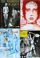 Important Ensemble De 62 BD Pour Adultes Datant Des Années 80 Et 90.  TBE+ - Libros, Revistas, Cómics