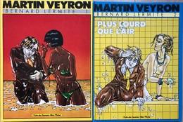 Martin Veyron/Albin Michel.  Albums éditions Datant Des Années 80. -Bernard Lermitte: Tomes 1 à 6.  TBE+ -Executive Woma - Books, Magazines, Comics