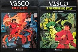 Gilles CHaillet/Vasco.  Ensemble De 23 Albums: Du Tome 1 Au Tome 20.  EO.  TBE+ Les Tomes 17, 18 & 19 Sont En Double. - Books, Magazines, Comics