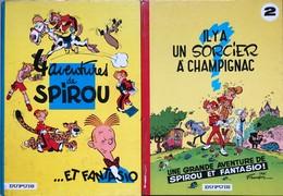 Franquin/Spirou & Fantasio.  Les 20 Premiers Tomes: éditions Datant Des Années 70.  Globalement En Bon état Voir TBE.  S - Books, Magazines, Comics