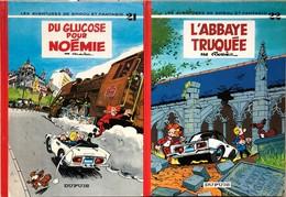 Franquin/Spirou & Fantasio.  Tomes 21 à 45.  Edtitions Des Années 70 Et 80.  TBE+ Tome & Janry/Le Petit Spirou.  Tomes 1 - Libros, Revistas, Cómics