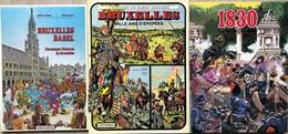 "1e Série: Tome 1: Franz/1830.  ""La Révolution Belge"".  EO De 1980.  Etat Neuf Tome 2 à 7.  EO En état Neuf. 2e Série: To - Libros, Revistas, Cómics"
