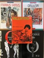 Serpieri/Morbus Gravis.  Tome 1 & 2.  EO En état Neuf. Guido Crepax:  -Valentina.  Tome 1 EO De 1969 En TBE+ -Histoire D - Books, Magazines, Comics