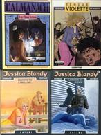 Renaud/Jessica Blandy.  Ensemble Des 14 Premiers Tomes En EO.  Etat Neuf Servais/Tendre Violette: -Tomes 1 & 2.  EO En é - Books, Magazines, Comics